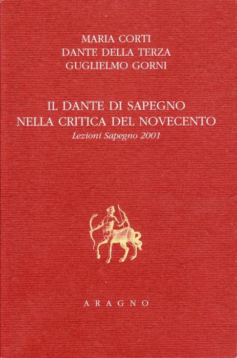 Giornata Sapegno 2001: Lezione magistrale di Maria Corti